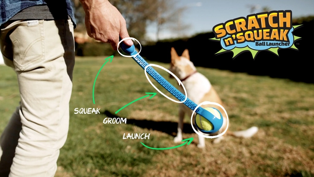 The Scratch N' Squeak Dog Ball Launcher project video thumbnail