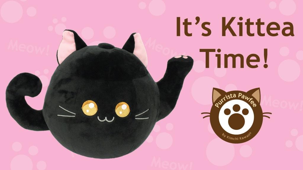 Kittea: The Cute Cat Tea Pot Plush project video thumbnail