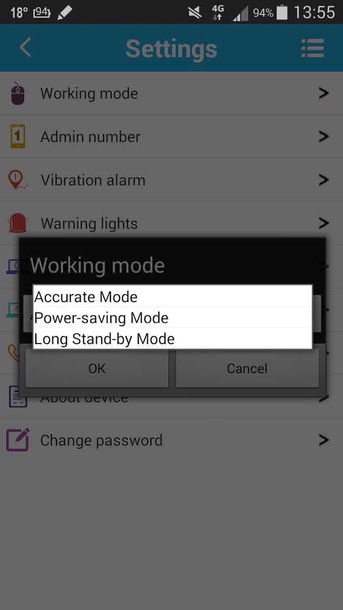 3 GPS modes