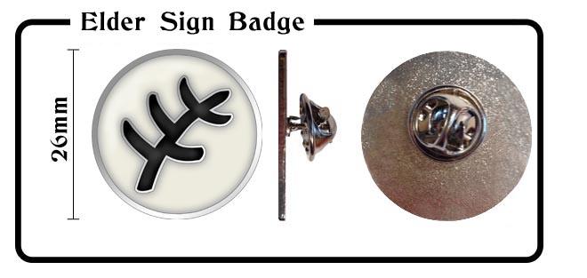Elder Sign Badge!