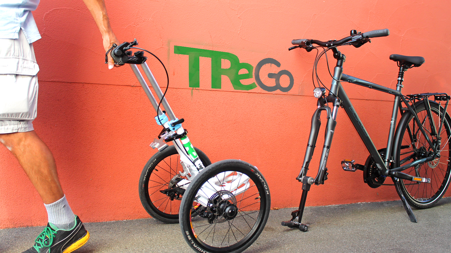 Join the bike revolution with the innovative trolley that is unlike anything you have ever seen.