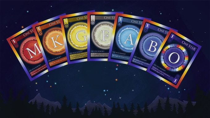 Players collect unique combinations of stars that are based on the brightest stars in each constellation.