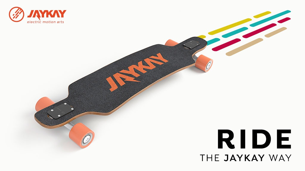Project image for JayKay -The electric skateboard truck with invisible drive
