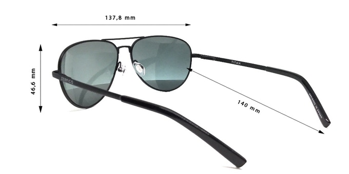 44f1265e9000 We always look for the best quality we can find. Therefore we use  hyper-extendable german OBE hinges for our Titan sunglasses.