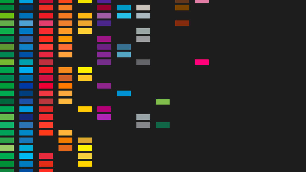 Project image for Transit Color Palette Poster