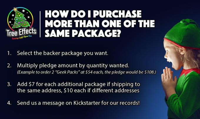 Backers will get the option to purchase additional Pixel Packs at a discount, after the campaign concludes.