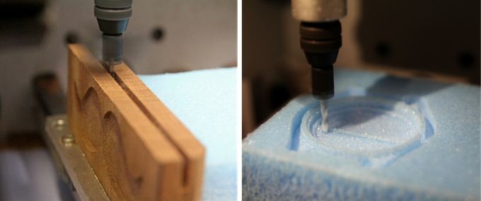Mahogany to Machinable Foam. Just two examples of superb materials to work with.