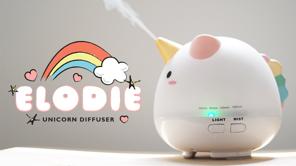 Elodie: Unicorn Diffuser project video thumbnail