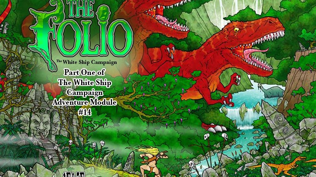 The Folio #14, 1E/5E Format Adventure Module project video thumbnail