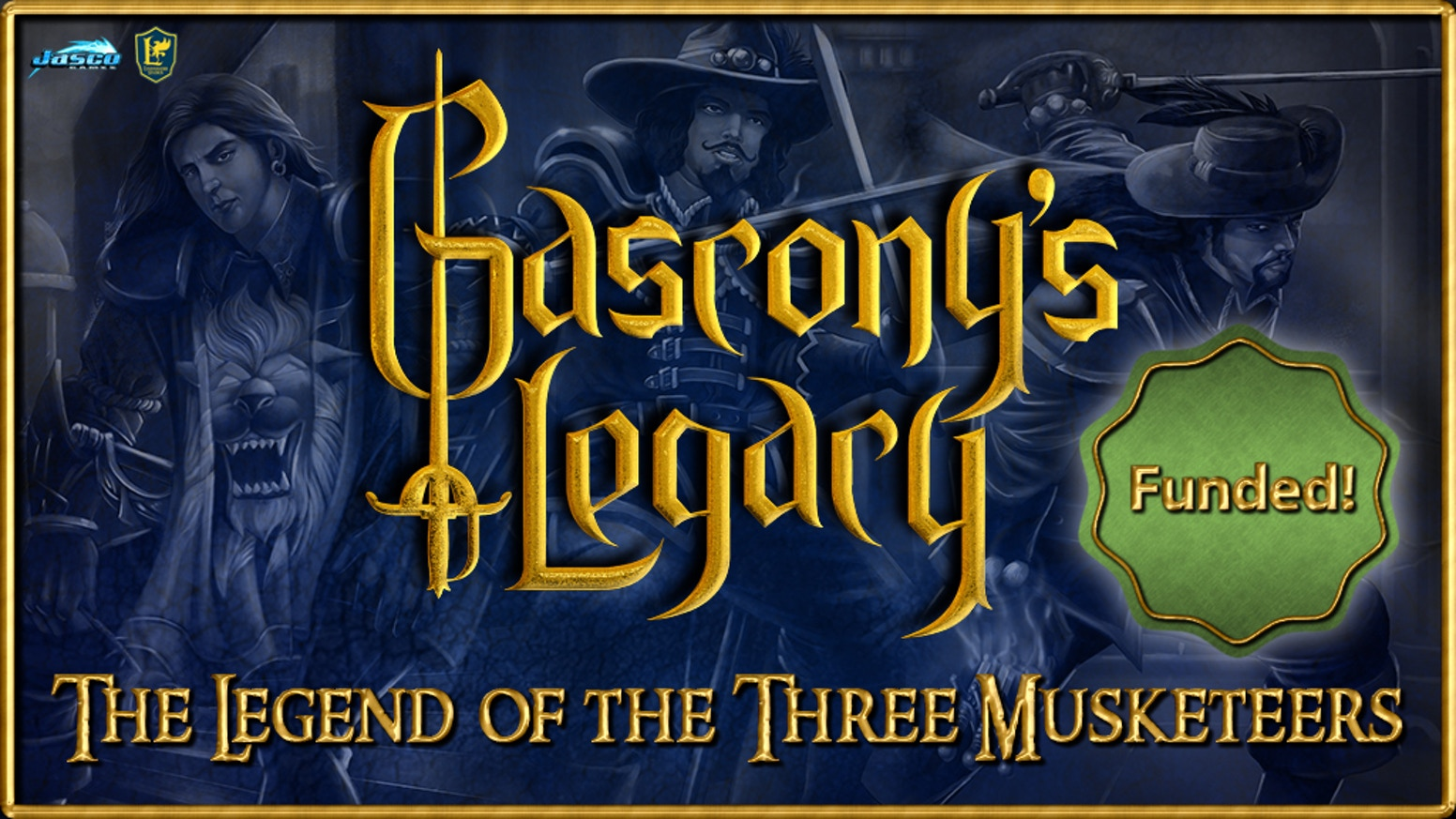 Gascony's Legacy is a 1-4 player cooperative tactics game that pits The Three Musketeers and allies against the darker side of France!