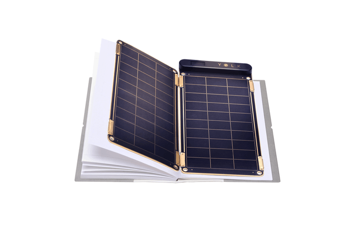 World's first solar power charger that can be placed inside your note or  planner. It is a paper thin and ultra light weight solar charger