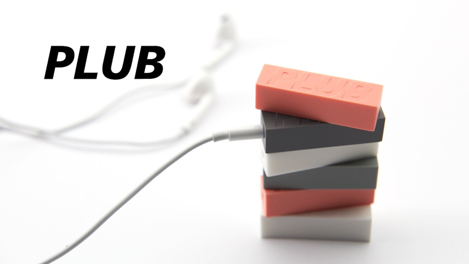 Make wired headphones wireless! PLUB is the most affordable, compact and simplest-to-use Bluetooth receiver.