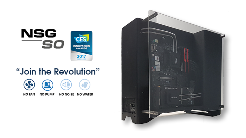 NSG S0: World's First Fanless Chassis for High Performing PC project video thumbnail