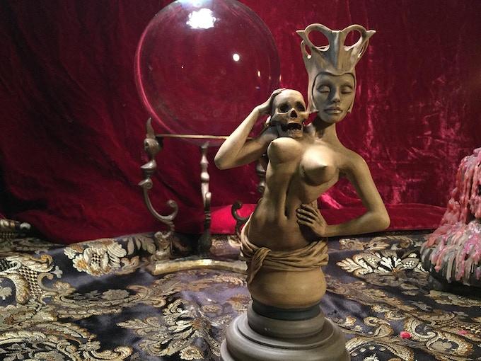 Incense-Burning Sculpture by Thomas Kuntz