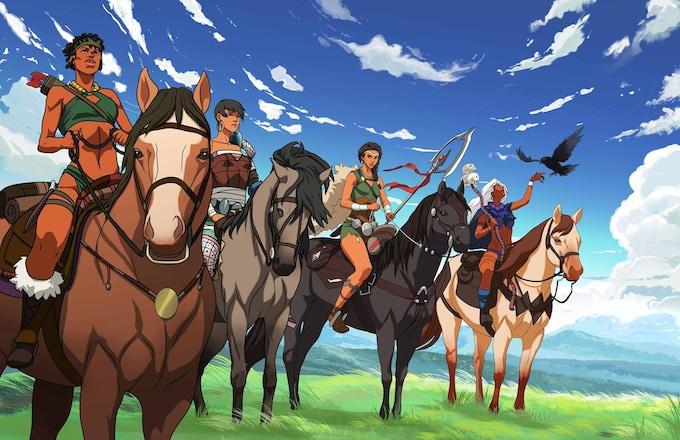 Savannah Riders by Welinthon Nommo