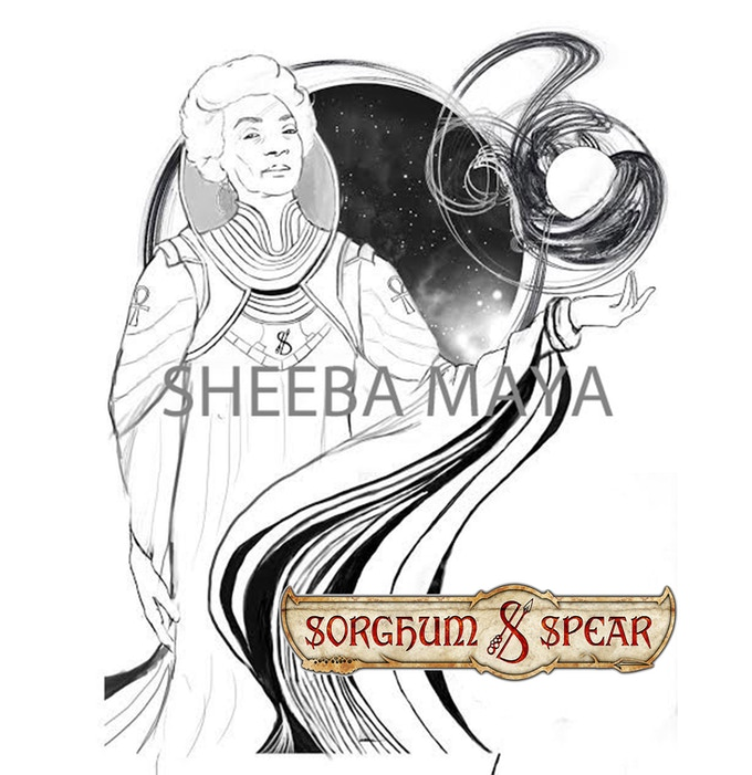 Eshe The All-Mother by Sheeba Maya (WIP)