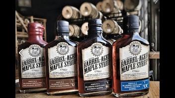 Liquor Barrel-Aged Maple Syrup