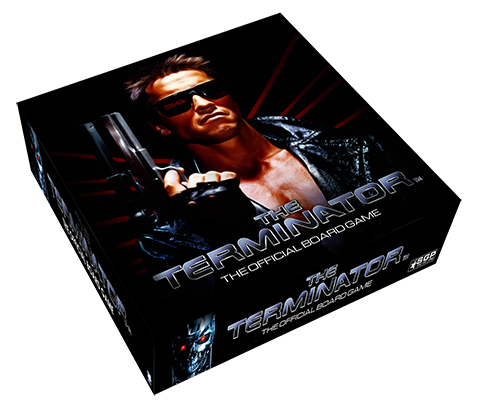 An asymmetrical strategy game played across two boards based off of the iconic 1984 James Cameron film starring Arnold Schwarzenegger.