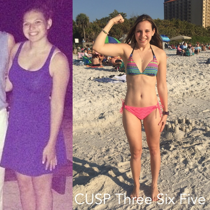 30 pounds of weight loss and infinite happiness gain.