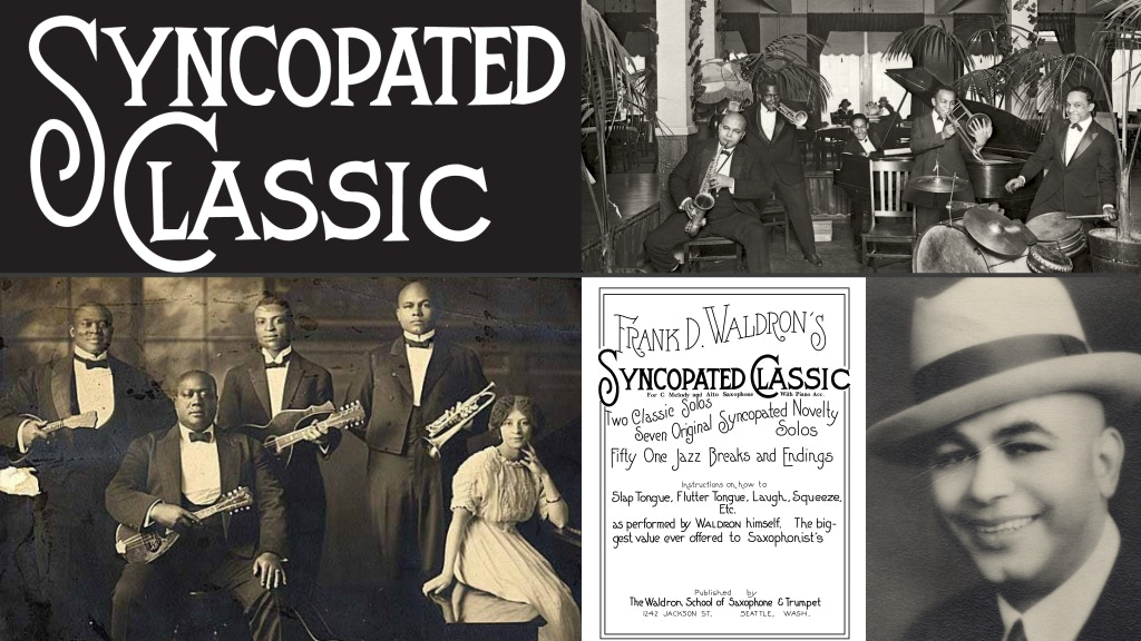SYNCOPATED CLASSIC – The lost work of a 1920s jazz composer project video thumbnail