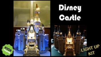 Light up Brick kits for Lego 71040 Disney Castle