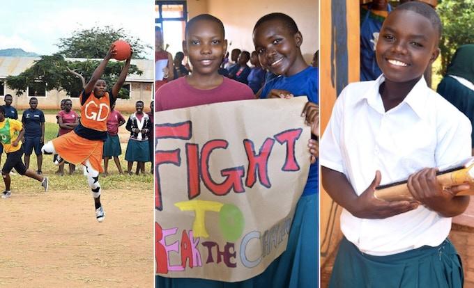 Students at SEGA Girls School