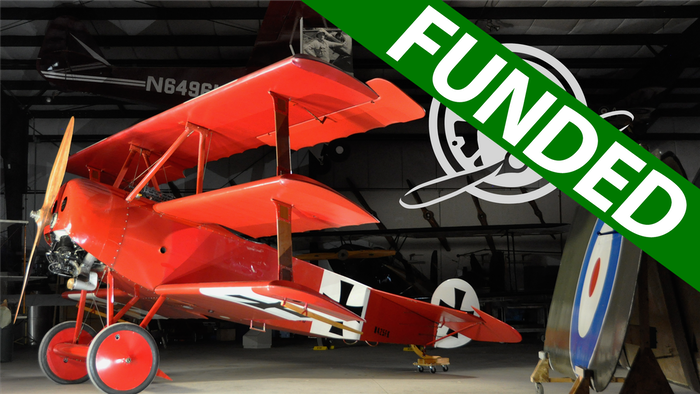 To commemorate the centennial of World War I, we want to get our Fokker Dr.I Triplane back in the air. Let's get this Fokker flying!