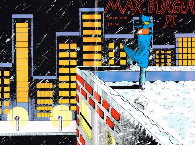 Max Burger P.I. issue 1