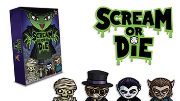 Scream or Die - A 2-4 player game for monsters of all ages!