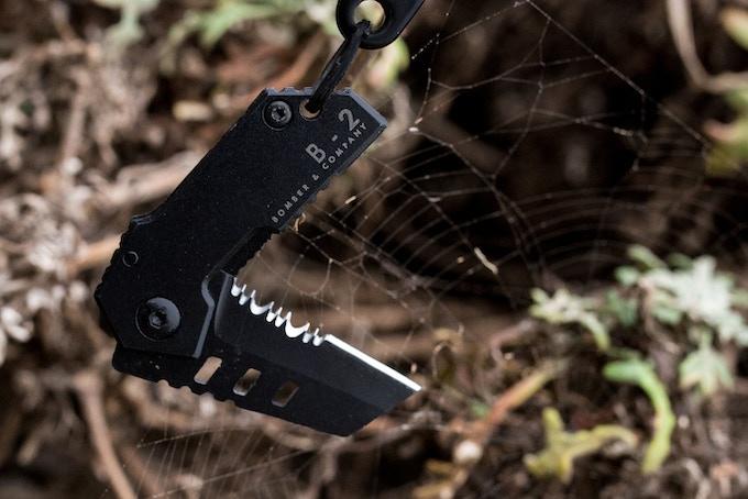 B-2 Nano Blade | World's Smallest Tactical Pocket Knife EDC