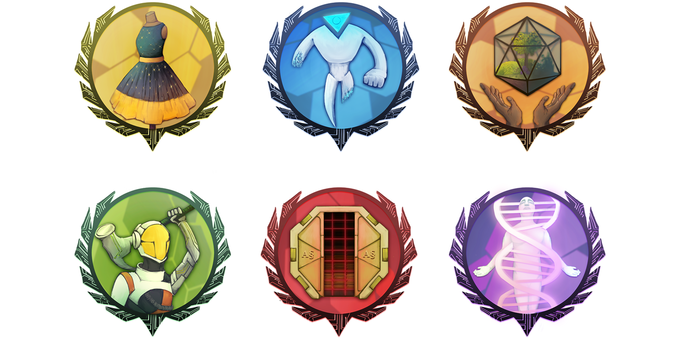 The Six Ruling Houses & their sigils
