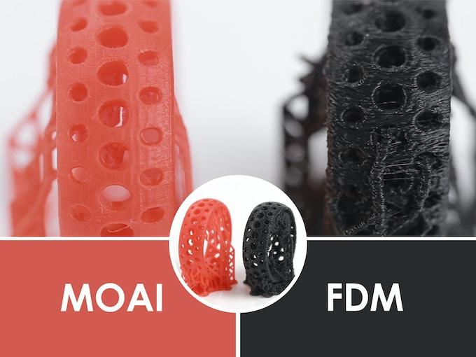Moai - Affordable High-Resolution Laser SLA 3D printer by