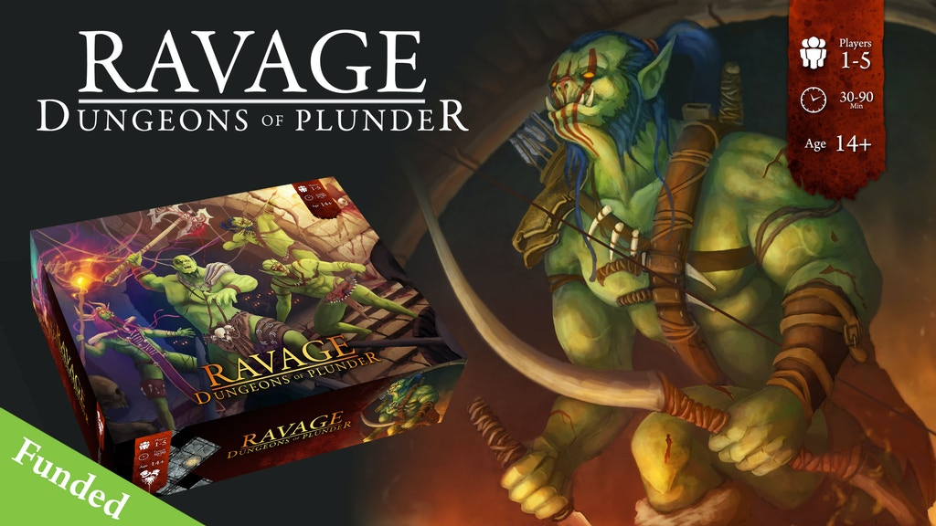 Ravage - Dungeons of Plunder - An Alternate Dungeon Crawler project video thumbnail