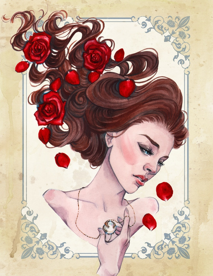Kickstarter Exclusive Cerulea Art Print