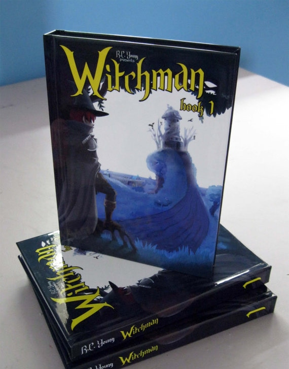 Witchman: Book 1 Graphic Novel by RC Young