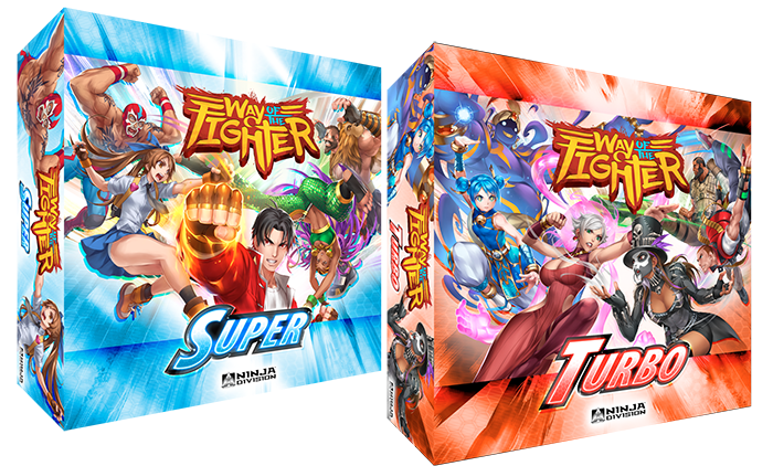 Way of the Fighter is an expandable card and dice game born of classic arcade-style fighting games.