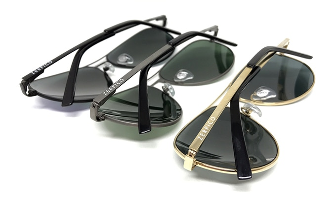 93bf94759c31 TITAN - Titanium aviator sunglasses with changeable lenses by ...