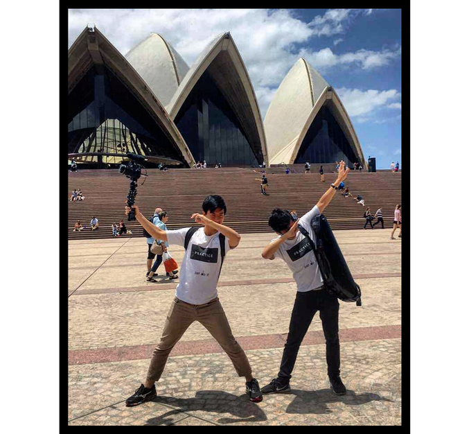 3 days before our Sydney Opera House show