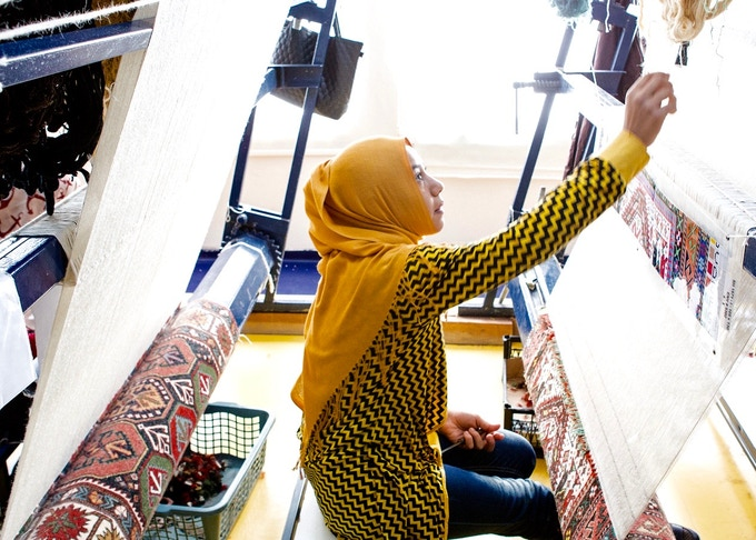 The Anka Cooperative helps Syrian refugee women reach for more.