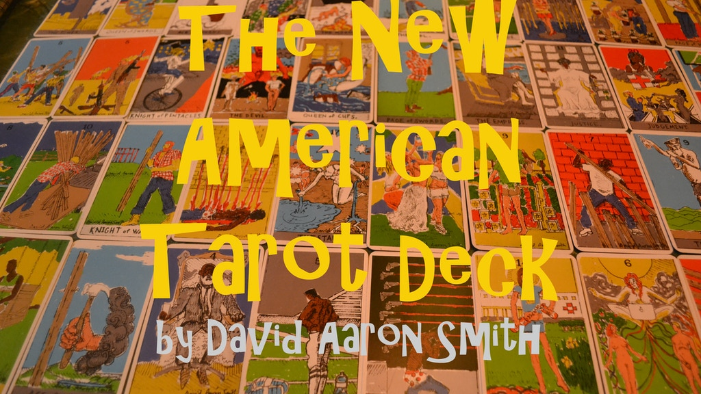 The New American Tarot Deck project video thumbnail