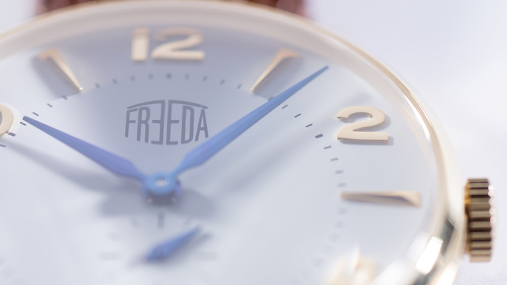 Freeda Vintage Watches: The hallmark of the Modern Gentleman project video thumbnail