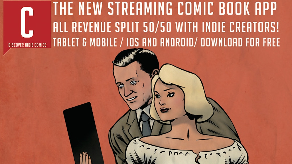 Comichaus - The Streaming App for Discovering Indie Comics project video thumbnail