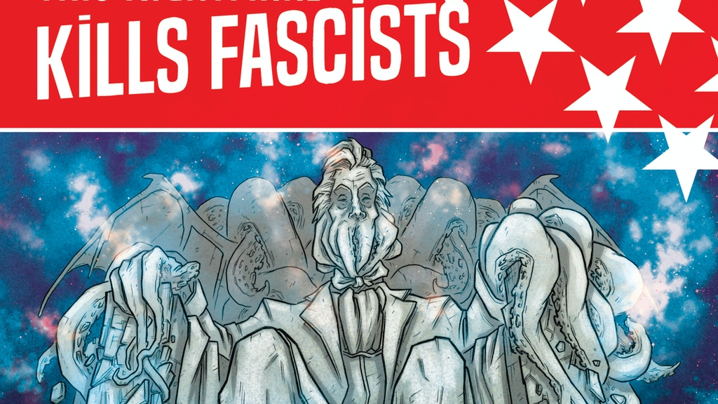 This Nightmare Kills Fascists - A Comics Anthology project video thumbnail