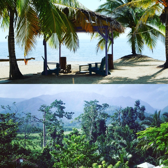 Beach on Top - Jungle Below - Take your pick!