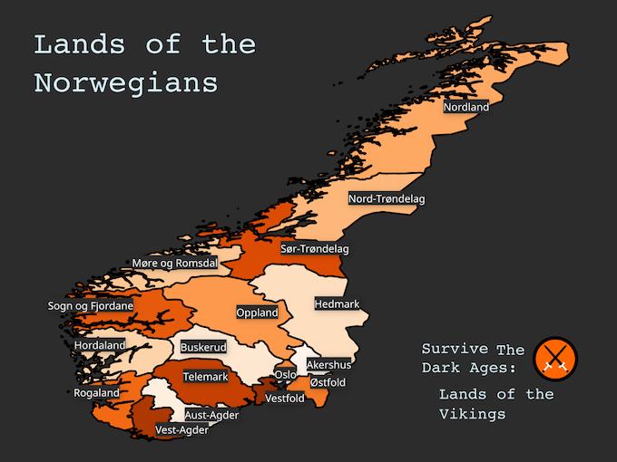 Lands of the Norwegians
