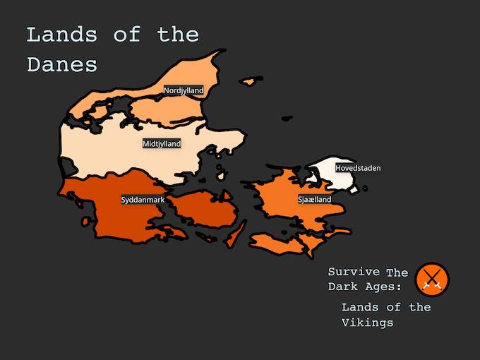Lands of the Danes