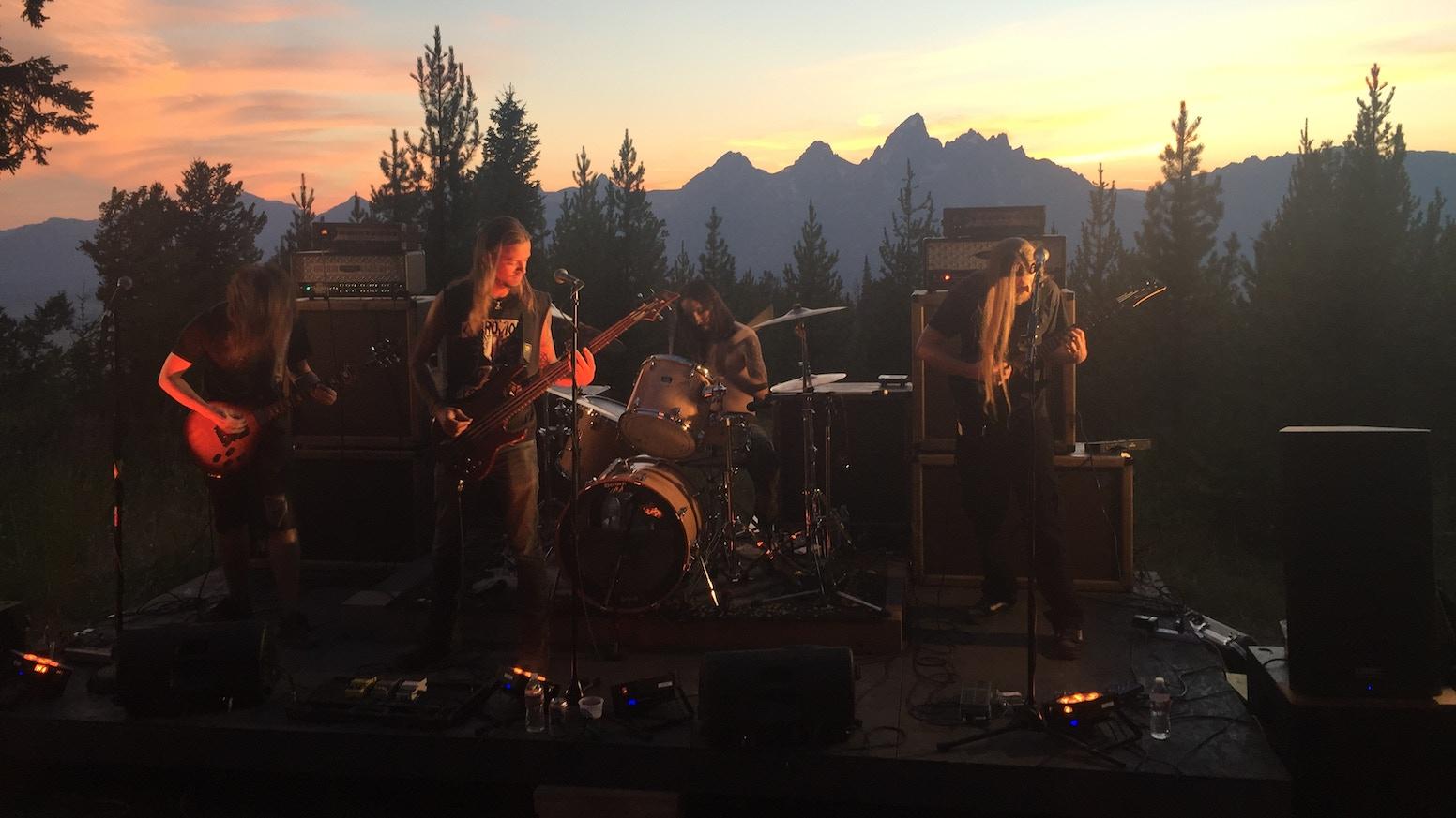 fire in the mountains by heavy metal massacre kickstarter