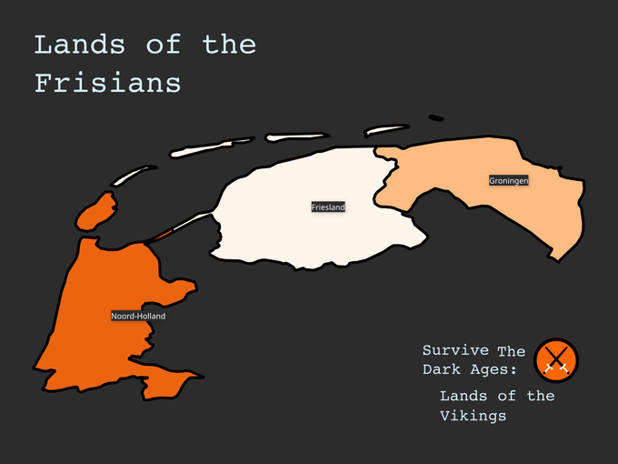 Lands of the Frisians