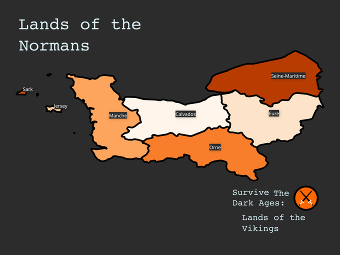 Lands of the Normans