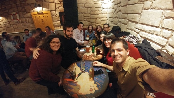 The AstroPrint Team in Malaga, Spain
